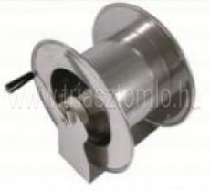 DMS-8 Manuális tömlődob Festett vagy rozsdamentes acélból